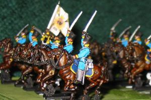 15mm, Napoleonic Prussian Dragoons AB 12 figures